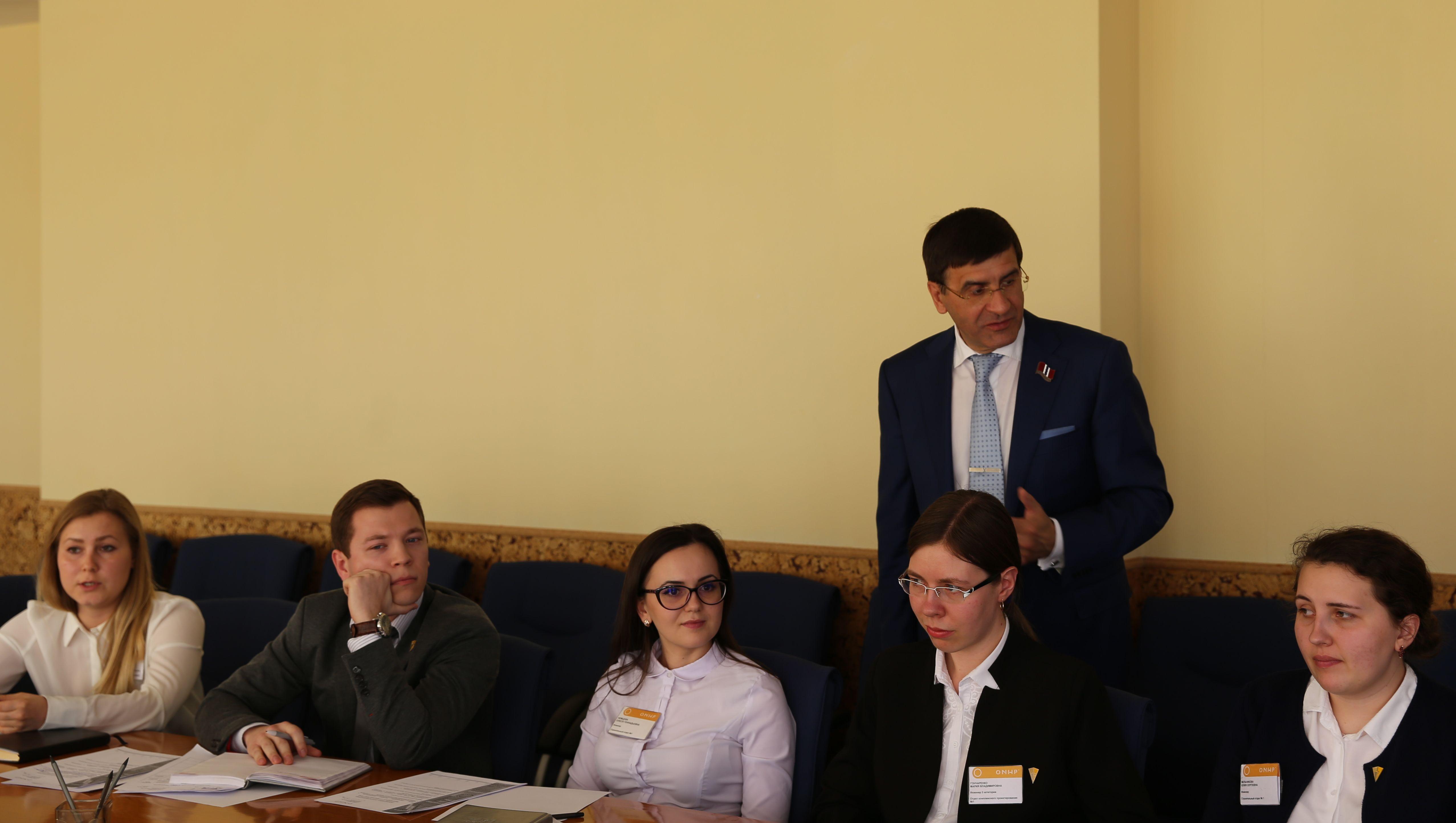 Встреча генерального директора с Советом молодых специалистов