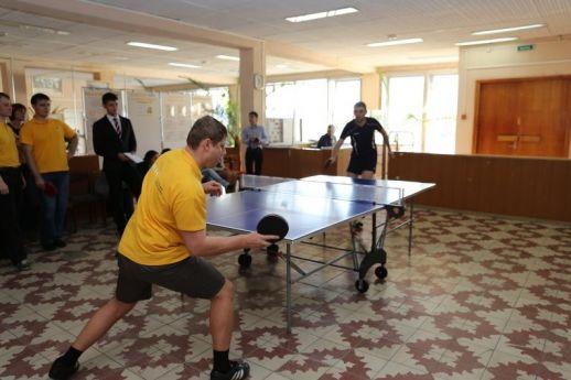 Финальные соревнования по настольному теннису, посвященные 60-летию ONHP
