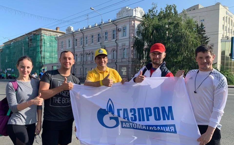"""Команда ПАО """"Газпром автоматизация"""" Партнеры"""